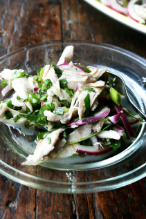 Chicken Salad with Olive Oil & Herbs