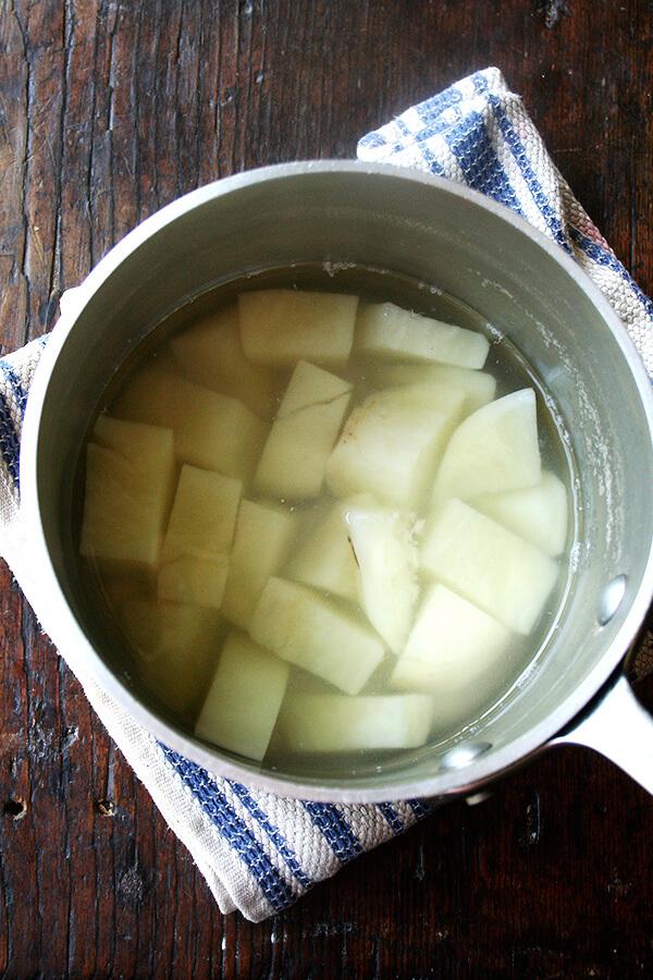potato, cooked