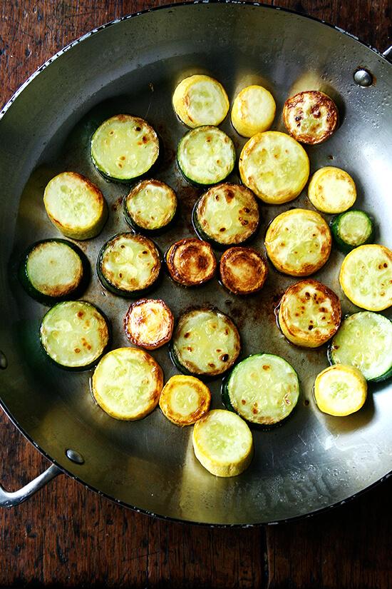 sauteed zucchini & squash
