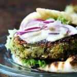 Chickpea & Quinoa Veggie Burgers