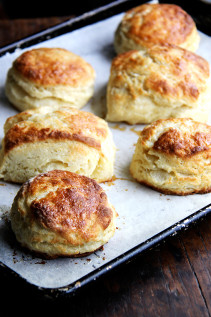 Buttermilk Biscuits with Maple & Sea Salt   Also, Tips from Joanne Chang on Biscuit Making