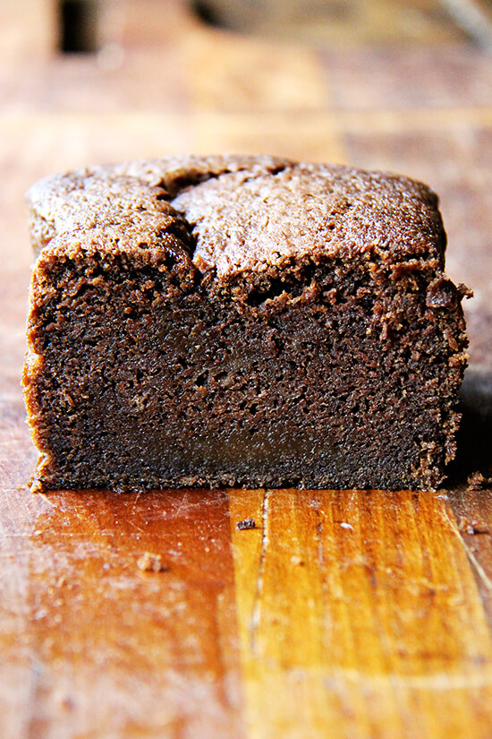 Nigella Lawson's Dense Chocolate Loaf Cake with Booze and Coffee, Plus Two Fair Trade Giveaways