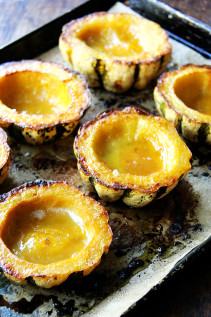 Roasted Acorn Squash with Maple Butter | New York