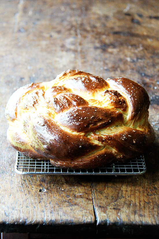 apple cider challah