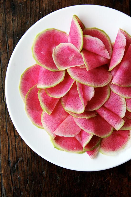 watermelon radishes