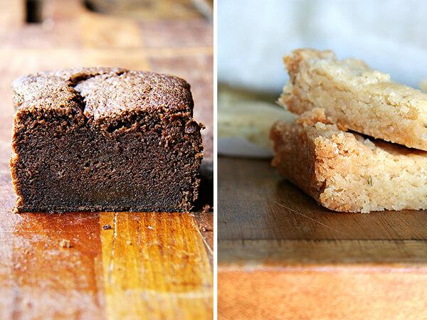 Nigella's cake, Clark's Shortbread