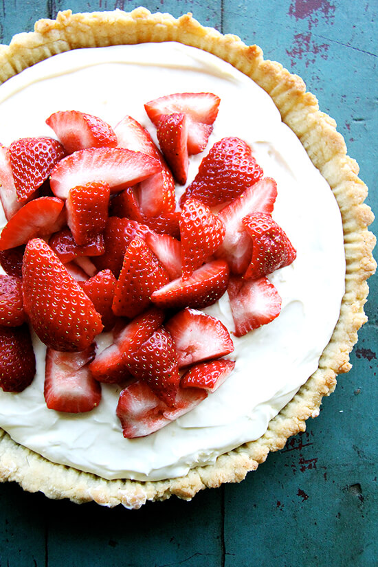 Strawberry Mascarpone Tart - alexandra's kitchen