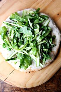 Canal House Shaved Asparagus & Arugula Salad | Roxbury Farm CSA