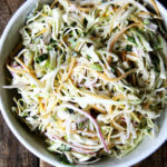 CSA Week 4:  Buttermilk Dressing for Slaw | Reviving Greens | Zucchini Pickles