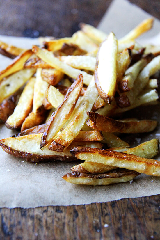 The crispiest oven fries