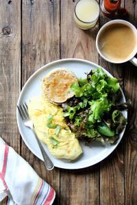2-egg omelet