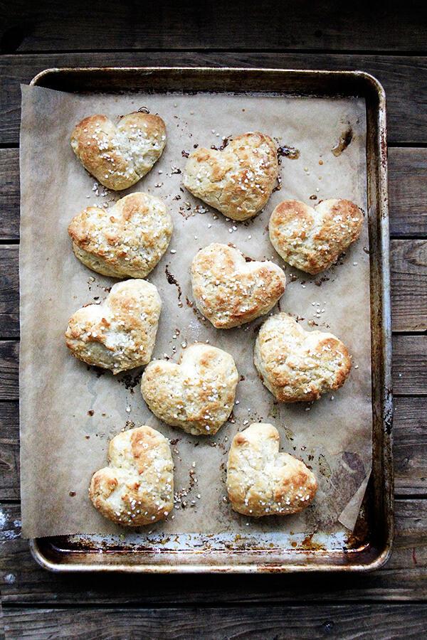 heart scones