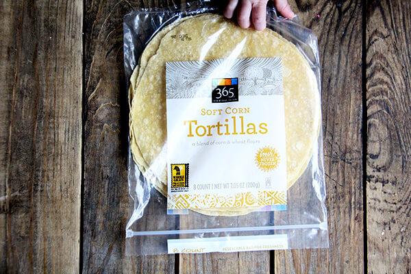 soft corn tortillas