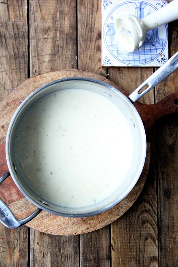 pureed potato soup