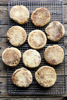 100% Whole Wheat English Muffins