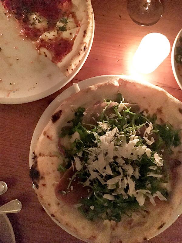 arugula pizza at Pizzaiolo