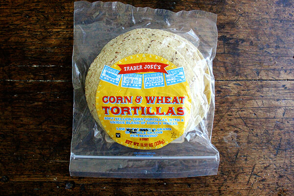 corn and wheat tortillas