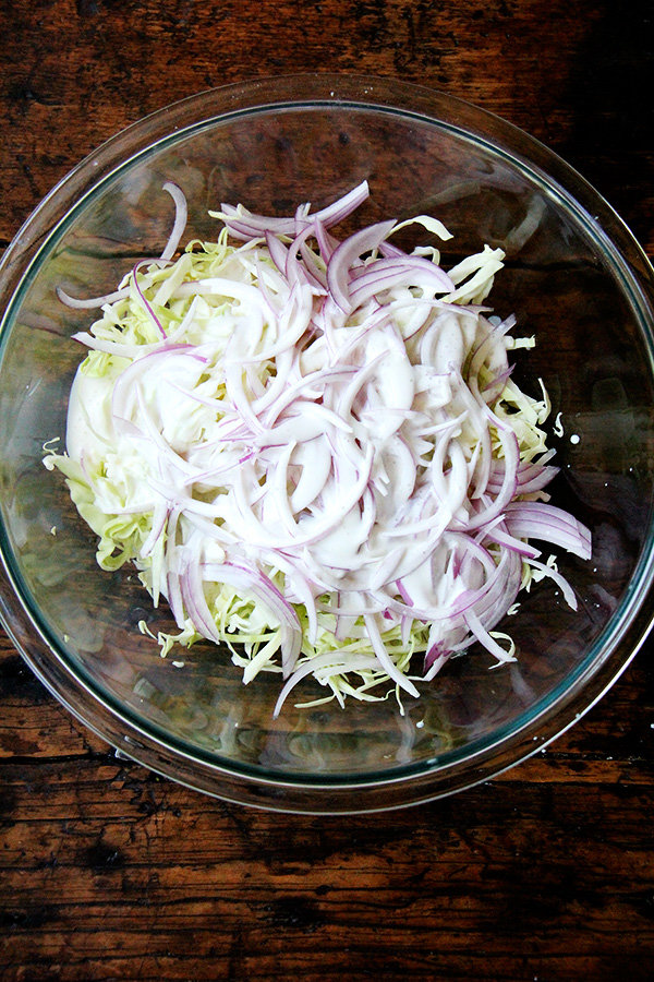 Simplest Cabbage Slaw + 10 Other Useful CSA Recipes
