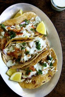 Skillet-Grilled Fish + Tacos