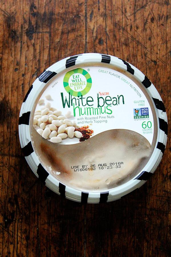 eat well embrace life white bean hummus