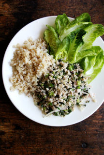Thai Chicken Salad (Larb Gai)