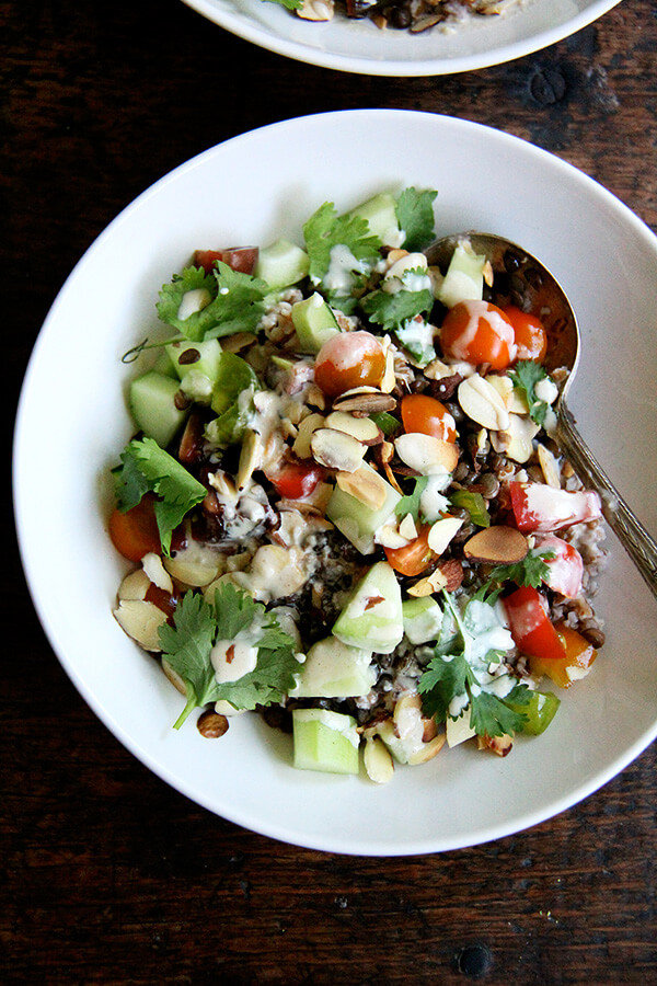 lentilbulgursalad