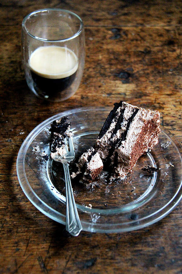 Chocolate-Espresso Icebox Cake