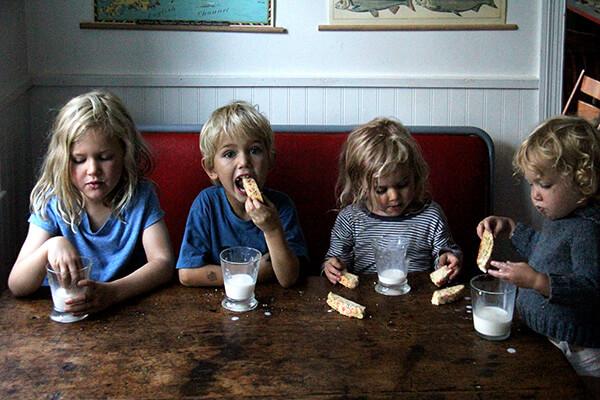 mandel bread eaters