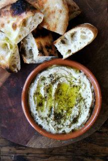 Smoky Eggplant Dip with Yogurt and Za'atar