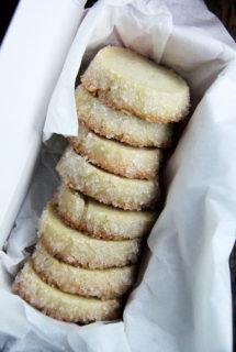 Vanilla Bean Sablés