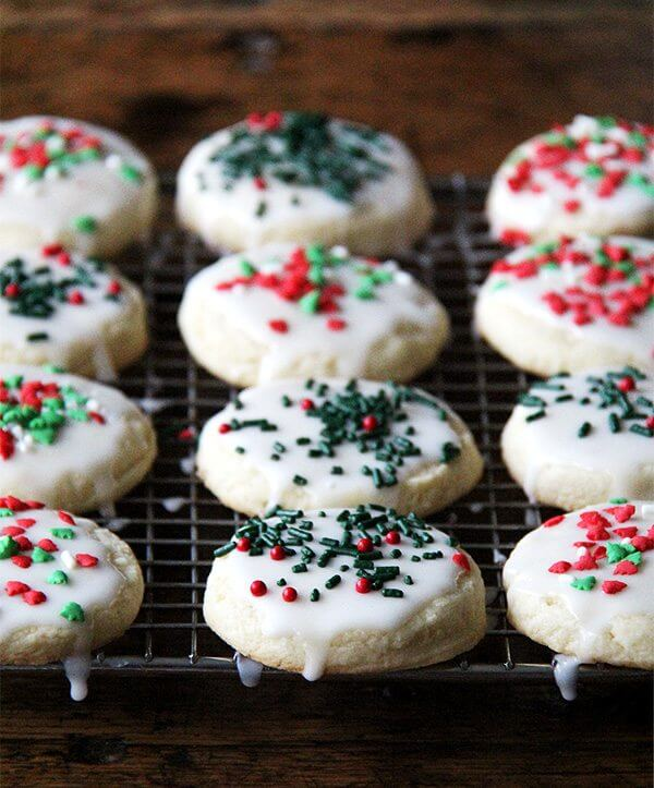 Looking for holiday cookies to serve during any type of holiday gathering? These cutout cookies hold their shape when baked, they're sweet, tender, and tasty, and most important, the children love them. More to the point, the children love making them. // alexandracooks.com