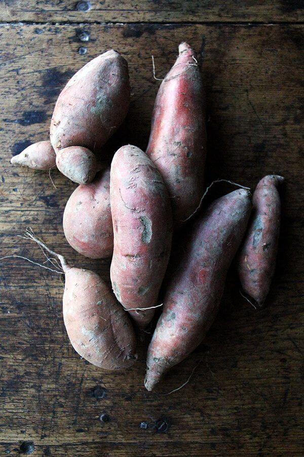 sweet poatoes