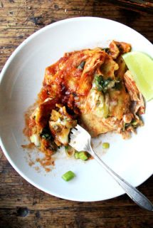 No-Fry, No-Dip, No-Roll, No-Fuss Enchiladas