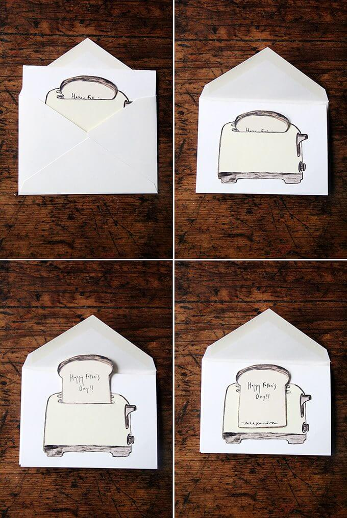 Aren't these toast bookplates and cards cute? Purchase a copy of Bread Toast Crumbs and get your own toast bookplates for free!  // alexandracooks.com