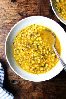 Deborah Madison's Curried Coconut Corn Soup